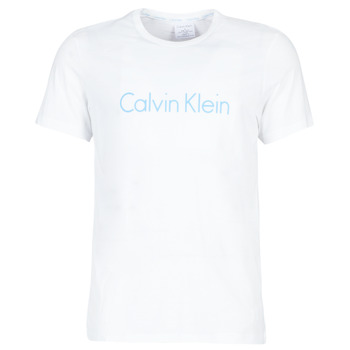 Clothing Men short-sleeved t-shirts Calvin Klein Jeans 000NM1129E-VBM White