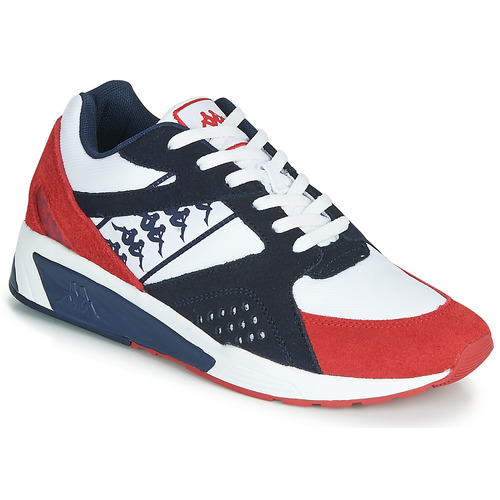 Shoes Men Low top trainers Kappa GARKO White / Red / Black