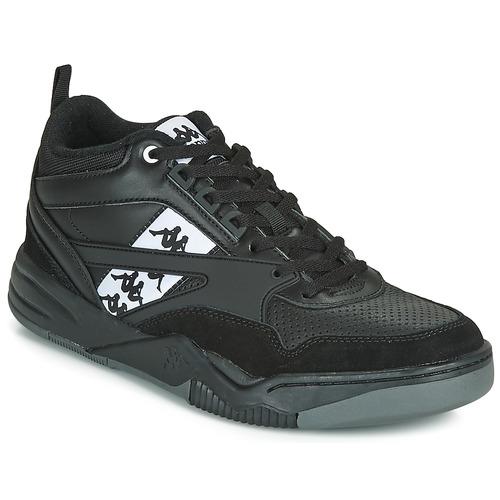 Shoes Men Low top trainers Kappa BORIS Black / Grey