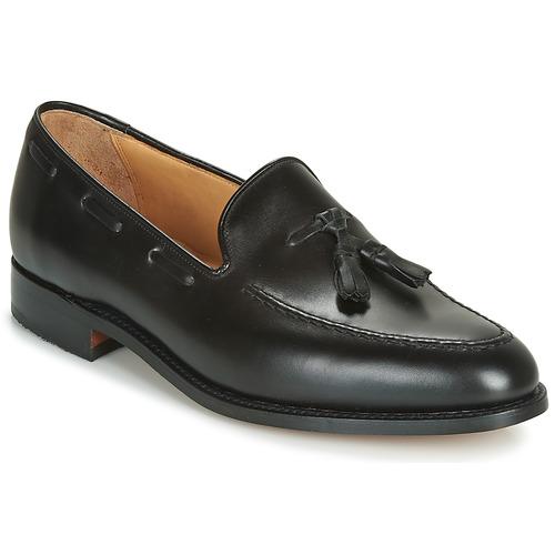 Shoes Men Loafers Barker TASSEL Black