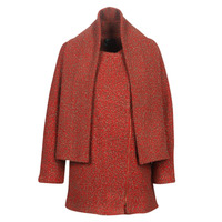 Clothing Women coats Smash LINETTE Red
