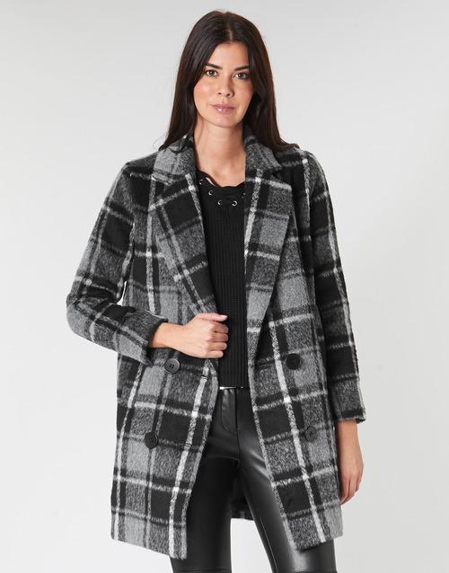 Clothing Women coats Molly Bracken PL132A21 Black