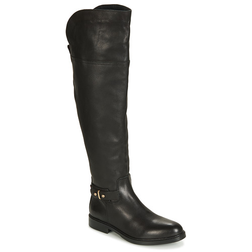 Shoes Women High boots Tommy Hilfiger HOLLY 6A Black