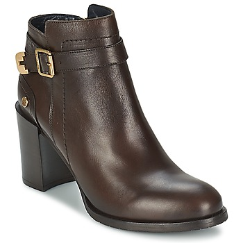Shoes Women Ankle boots Tommy Hilfiger PENELOPE 3A Brown