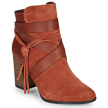 Shoes Women Ankle boots Tamaris MARYNA Brown