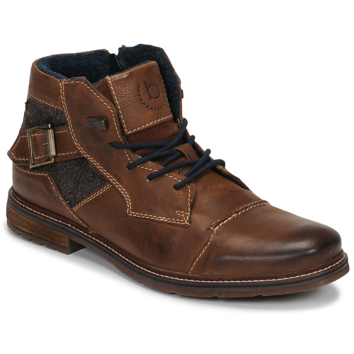 Shoes Men Mid boots Bugatti ROLLAND Brown