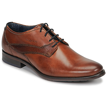 Shoes Men Derby Shoes Bugatti MENFO Cognac