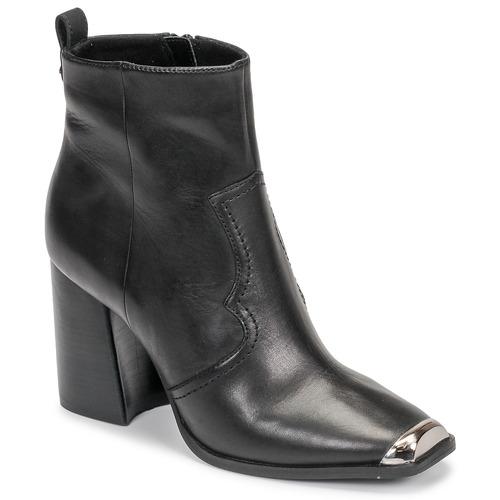 Shoes Women Ankle boots Steve Madden ENZO Black