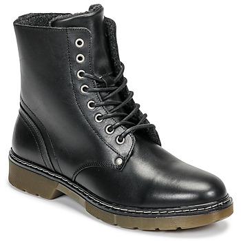Shoes Girl Mid boots Bullboxer AHC501E6LC-BLBLK Black