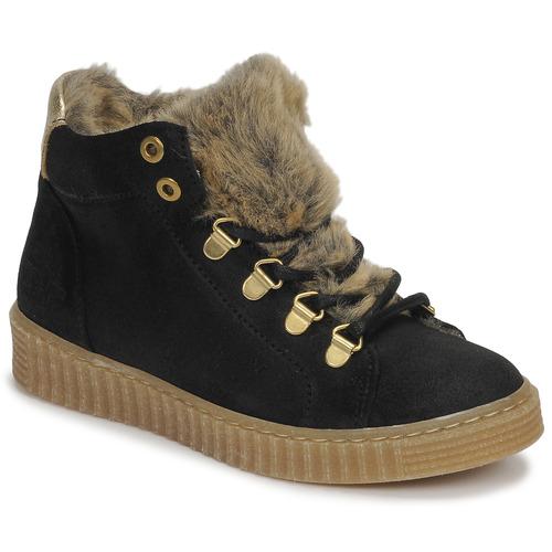 Shoes Girl Hi top trainers Bullboxer AIB504E6CA-BLCK Black