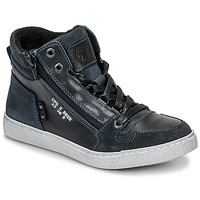 Shoes Boy Hi top trainers Bullboxer AGM531E6L-NGBLK Marine