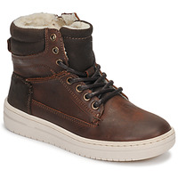 Shoes Boy Hi top trainers Bullboxer AID500E6L-DKCG Brown