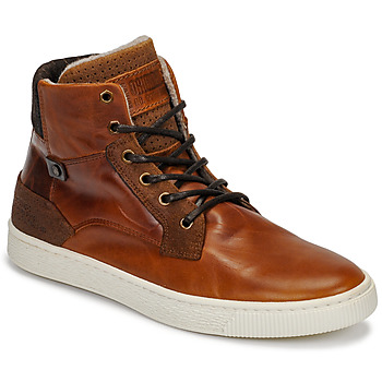 Shoes Men Hi top trainers Bullboxer 648K55858A2501 Brown