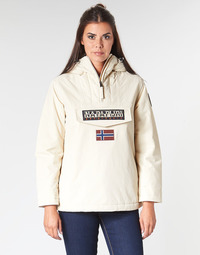 Clothing Women Parkas Napapijri RAINFOREST WINTER White