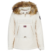 Clothing Women Parkas Napapijri SKIDDO White