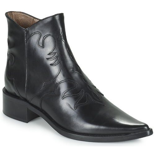 Shoes Women Mid boots Muratti REDBUD Black