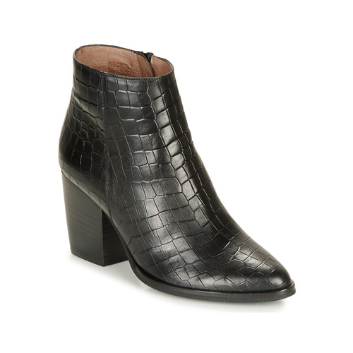 Shoes Women Ankle boots Wonders M4103-COCO-NEGRO Black