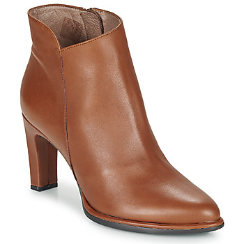 Shoes Women Ankle boots Wonders M4302-ISEO-CUERO Cognac