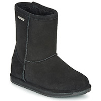 Shoes Girl Mid boots EMU BRUMBY LO WATERPROOF Black