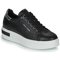 Shoes Women Low top trainers Sweet Lemon BISTROT Black