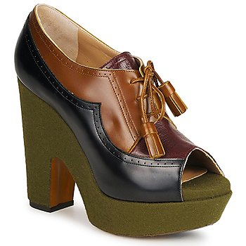 Shoes Women Heels Rochas SHEZAN Multicoloured