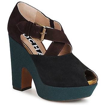 Shoes Women Heels Rochas NINFEA Brown / Blue