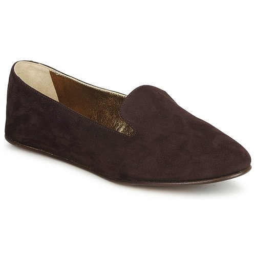 Shoes Women Loafers Rochas NITOU Brown