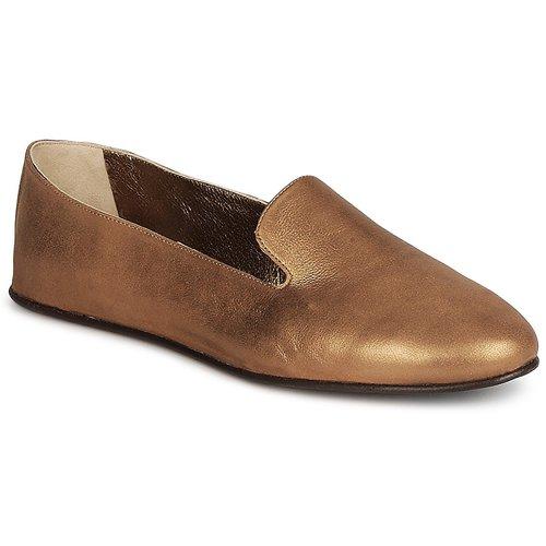 Shoes Women Loafers Rochas NITOU Bronze
