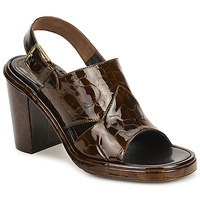 Shoes Women Sandals Rochas TARTAF Brown