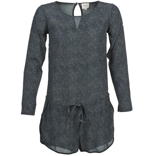 Clothing Women Jumpsuits / Dungarees Petite Mendigote LOUISON Black / Grey