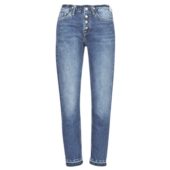 Clothing Women straight jeans Pepe jeans MARY REVIVE Blue / Medium