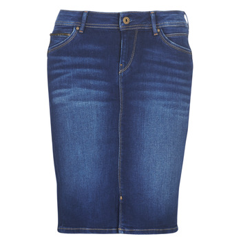 Clothing Women Skirts Pepe jeans TAYLOR Blue / Medium