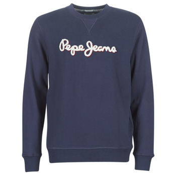 Clothing Men sweaters Pepe jeans LAMONT Blue