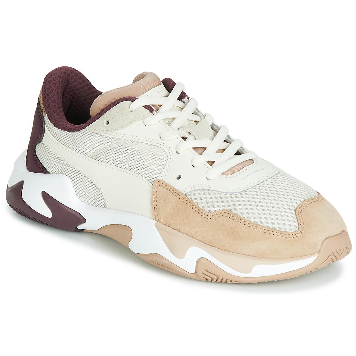 Puma STORM ORIGIN NOUGAT women's Shoes (Trainers) in White