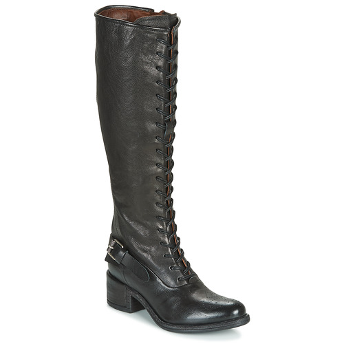 Shoes Women High boots Airstep / A.S.98 OPEA LACE Black