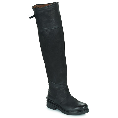 Shoes Women High boots Airstep / A.S.98 BRET HIGH Black