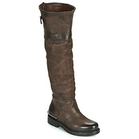 Shoes Women High boots Airstep / A.S.98 BRET HIGH Brown