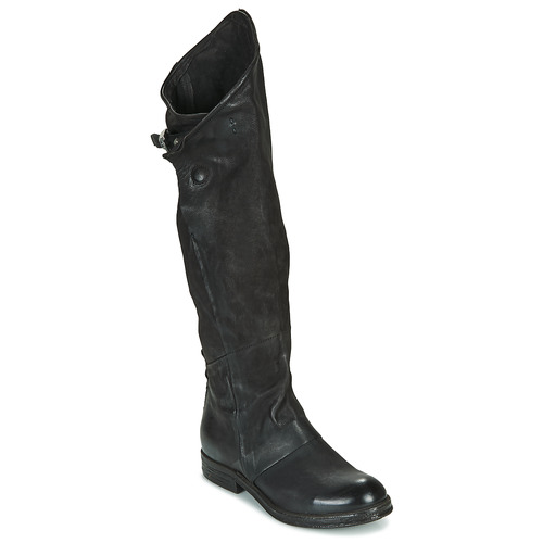 Shoes Women High boots Airstep / A.S.98 VERTI HIGH Black