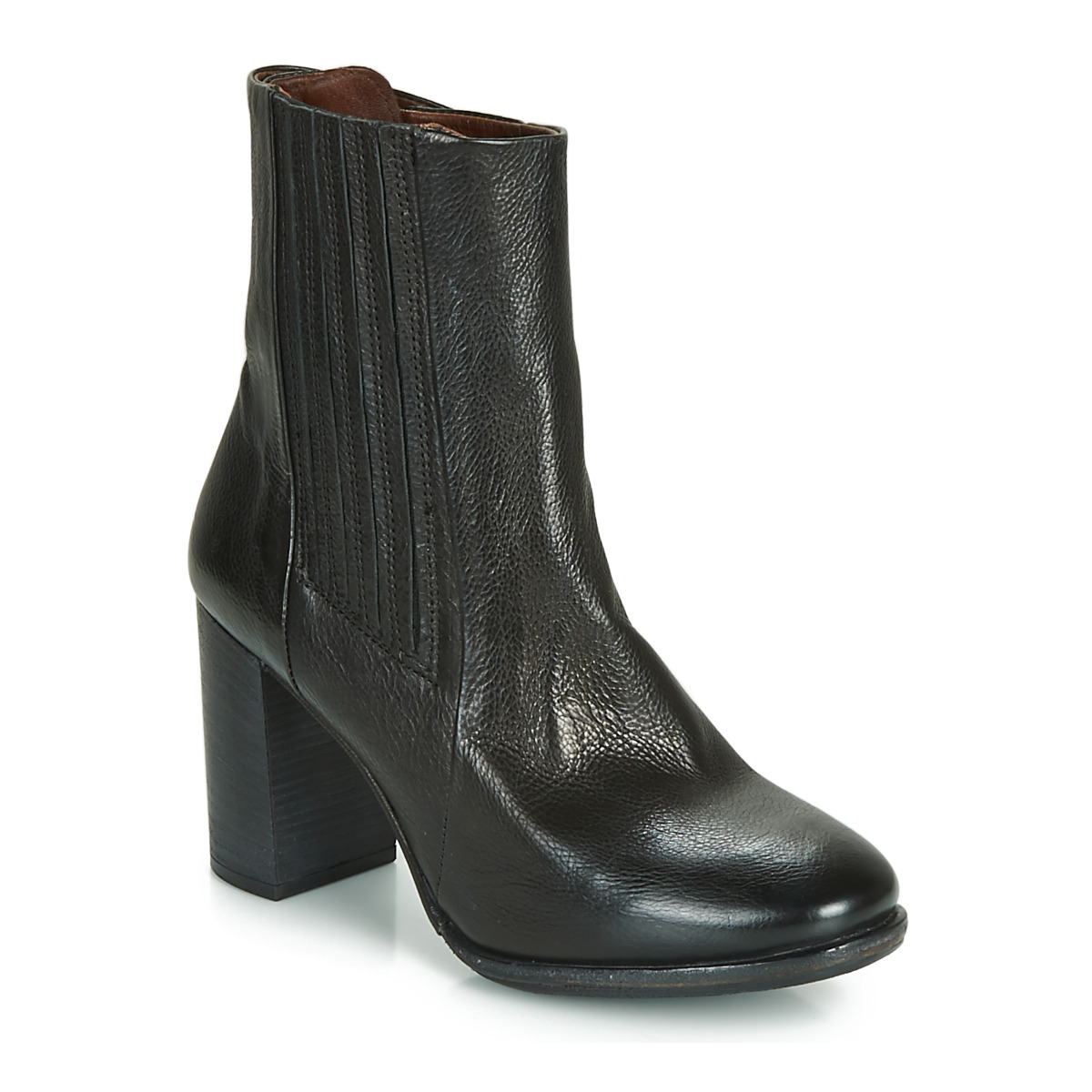 airstep / a.s.98  fresh chels  women's low ankle boots in black