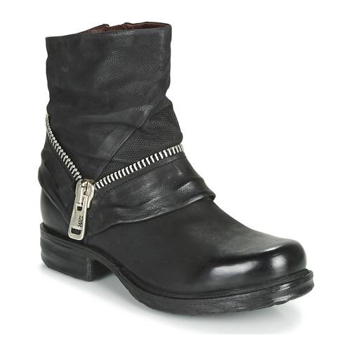 Shoes Women Mid boots Airstep / A.S.98 SAINT EC ZIP NEW Black