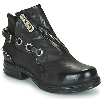 Shoes Women Mid boots Airstep / A.S.98 SAINT EC CLOU Black