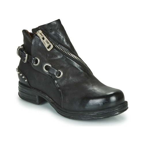 Shoes Women Mid boots Airstep / A.S.98 SAINT EC CLOU Black