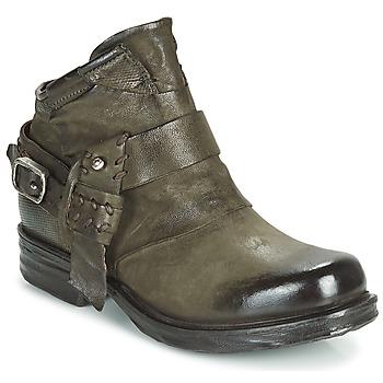 Shoes Women Mid boots Airstep / A.S.98 SAINT EC STRAPE Kaki