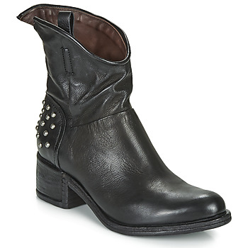Shoes Women Mid boots Airstep / A.S.98 OPEA STUDS Black