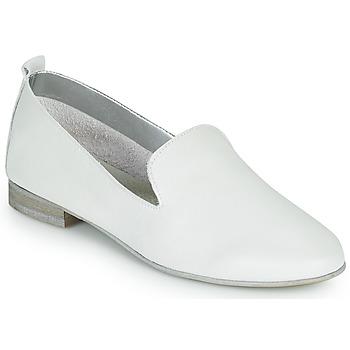 Shoes Women Loafers André ROMANS White