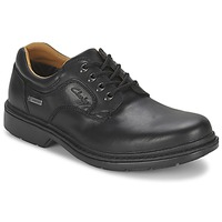 Shoes Men Derby Shoes Clarks ROCKIE LO GTX Black