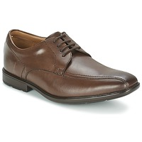 Shoes Men Derby Shoes Clarks GOSWORTH OVER Brown
