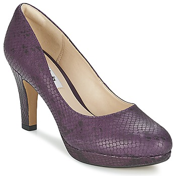 Shoes Women Heels Clarks CRISP KENDRA Purple