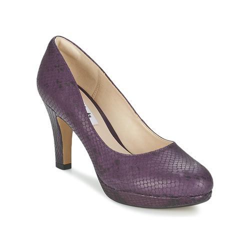 Clarks CRISP KENDRA Purple - Free