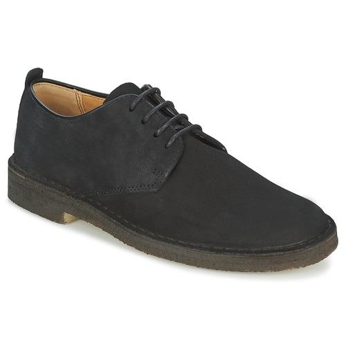 Shoes Men Derby Shoes Clarks DESERT LONDON Black